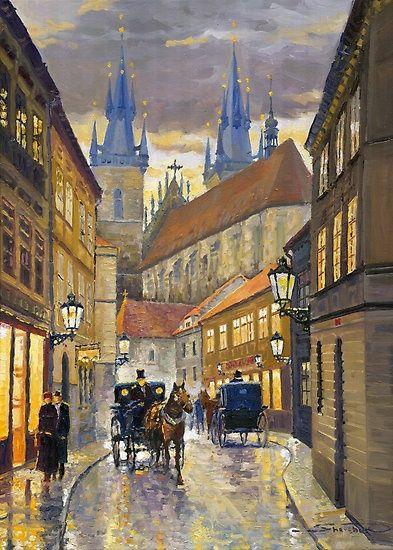 Yuriy Shevchuk ~ Prague: