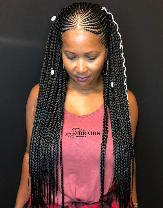 35 Tribal Braids Styles Twist Braid Hairstyles Hair Styles