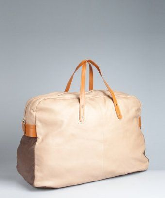 luxe nappa holdall ++ paul smith