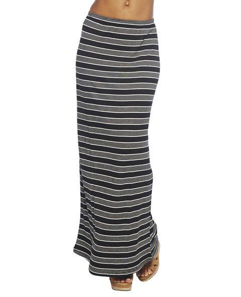 Stripe Maxi Skirt | Wet Seal