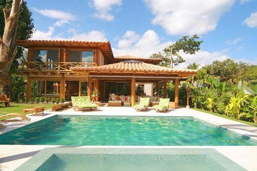 Ediculas com churrasqueira e piscina rusticas pesquisa google casa de campo pinterest - Piscinas rusticas ...