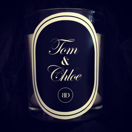 Personalised Candle - Bombardier Designs