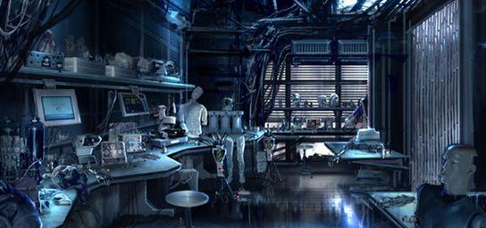 A.I.: ARTIFICIAL INTELLIGENCE - A.I. Lab interior concept. | A.I. |  Pinterest | Artificial intelligence and Set design