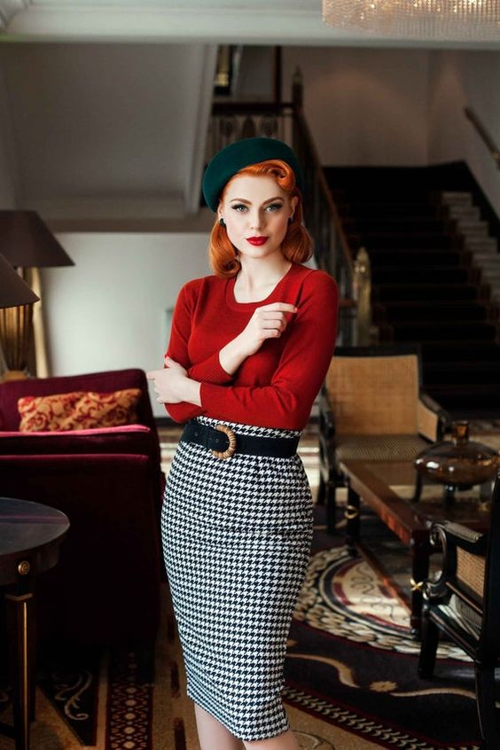 Perfect for WINTER,  High waist woolen style straight cut skirt, the fabric is thick, warm for winter and very SOFT touch. The length is under-knee to bring back the 1950s elegance. But if youd like it shorter, its quite easy when you have seamstress basic knowledge or if you know a seamstress, to