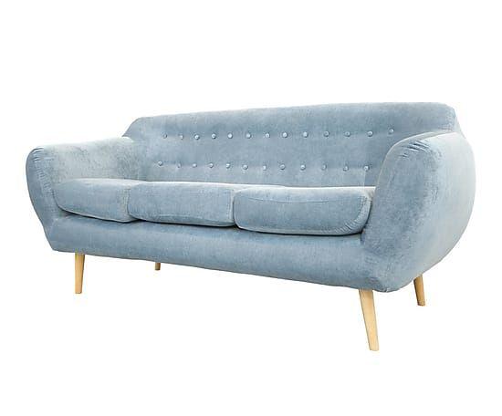 Sofá de 3 plazas Índigo - azul