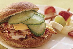 Quick BBQ Turkey and Cheese Sandwich Recipe - Kraft Canada
