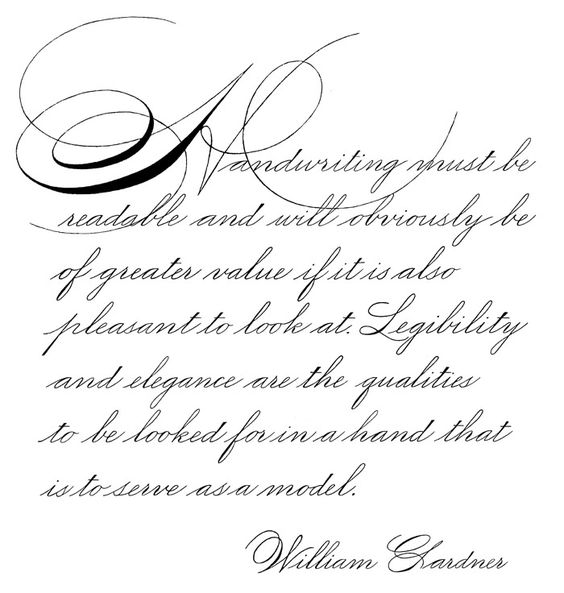Ink Calligraphy Fpn Ink Pinterest Calligraphy
