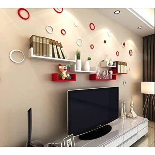 Onlineshoppee MDF Handicraft Wall Decor Ushaped Designer Wall