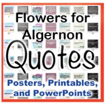 "a character analysis of daniel keyes novel flowers for algernon Lucypevensie: 'flowers for algernon is a book that says to you: ""i want you to question  flowers for algernon by daniel keyes - review  i really, really knew this guy – a character i had only just started to read about, but was."