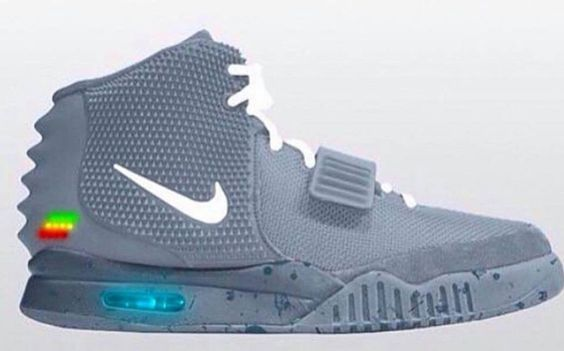 Nike X Kanye West Air Yeezy 2 Air Mag Custom With Images
