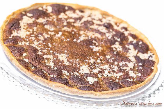 Tarte au sucre: recette facile de tarte au sucre à la cassonade