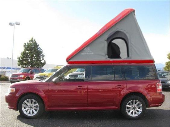 Ford Flex Clamshell Upal Auto Tent from Starling Travel