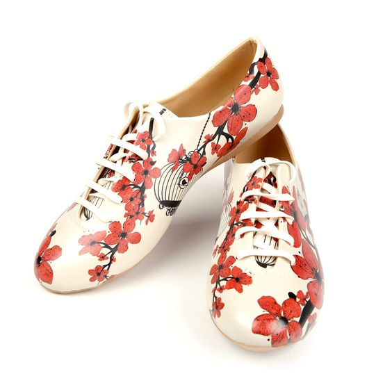 eu.Fab.com | Shoes Red Flowers