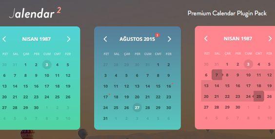 Jalendar 2 Calendar Pack Event, Range and More  Jalendar2 is - event calendar
