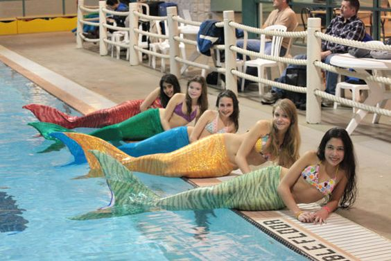 Mermaid Tails You Can Actually Swim In $250...my daughter would love one of these!!