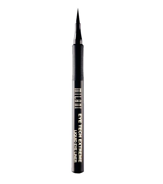 These Are the 6 Best Drugstore Liquid Liners We've Found - Milani Eye Tech Extreme in Blackest Black from InStyle.com