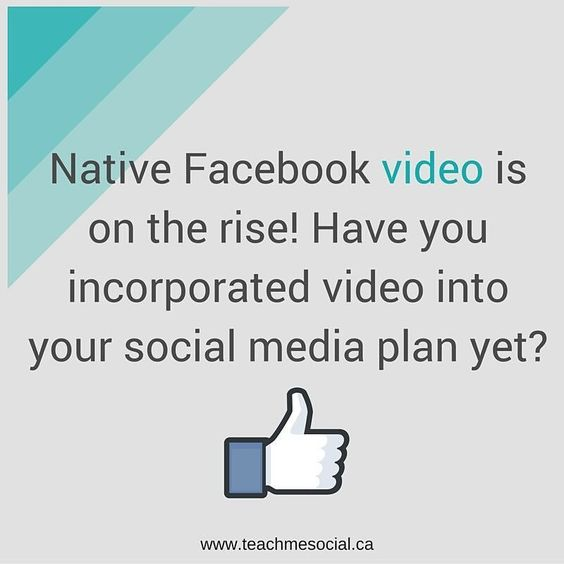 How have you incorporated $Facebook #video into your #content #marketing efforts?  Have you tried live video yet?
