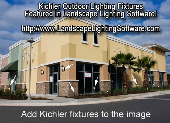 17 best kichler fixtures featured in landscape lighting software kichler landscape lighting fixtures featured in landscape lighting and effects software it all starts with taking a picture of the clients property aloadofball Image collections