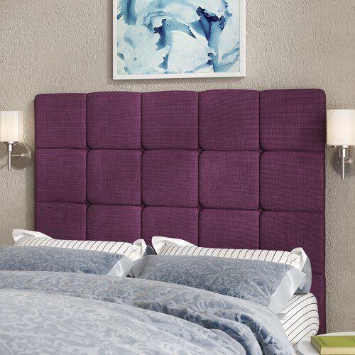 Gwyneth Upholstered Headboard 17 Stories Size Single Upholstery