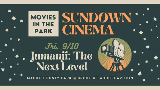 Sundown Cinema hosted by Maury County Parks and Recreation returns Friday with a screening of