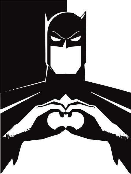 Batman Gang Signs HOLY LORD ITS BATMAN !! <3