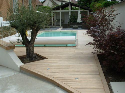 lames de terrasse en teck terrasses pinterest. Black Bedroom Furniture Sets. Home Design Ideas