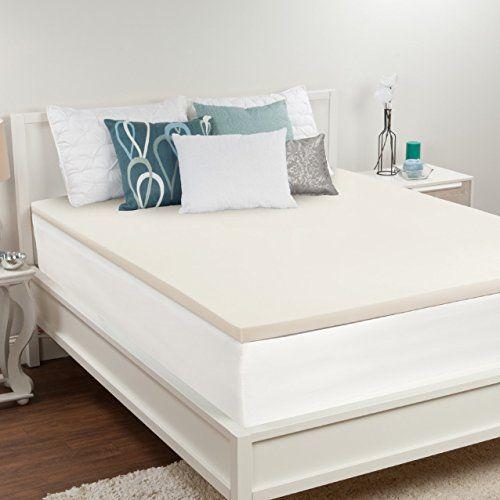 Sealy Premium 1 5 Inch Memory Foam Mattress Topper Queen Bedroom Designs For Couples Air Mattress Mattress