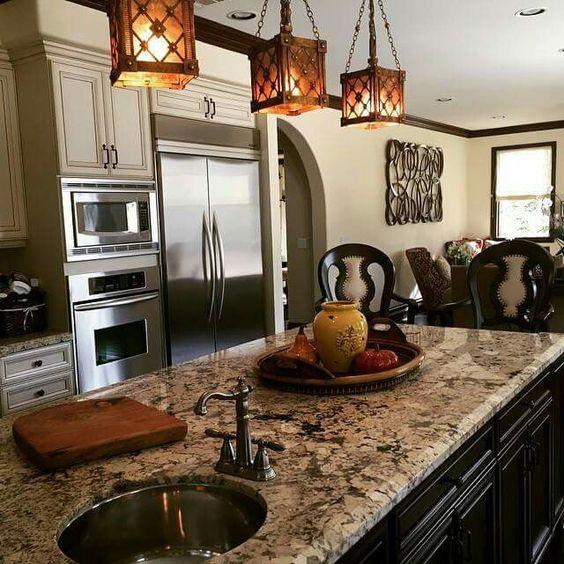 Warm Kitchen Color Schemes: Tia Mowry Kitchen. ...love The Warm, Natural Color Scheme