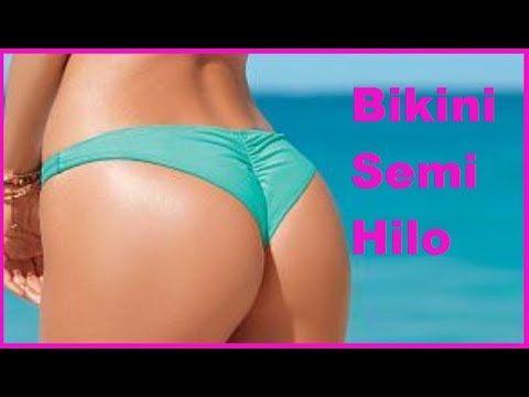 Como Hacer Un Bikini Semi Hilo Para Traje De Bano Con Patron