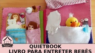 costurar livro de criança - YouTube