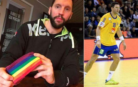 Prohibeixen al capità de Suècia dhandbol du un braçalet amb la bandera gay