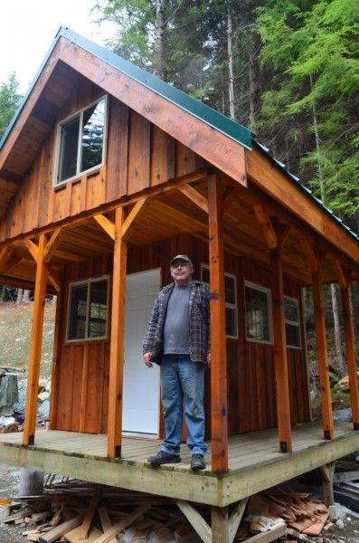 Sleeping loft tiny house and loft on pinterest for Tiny house with 2 sleeping lofts