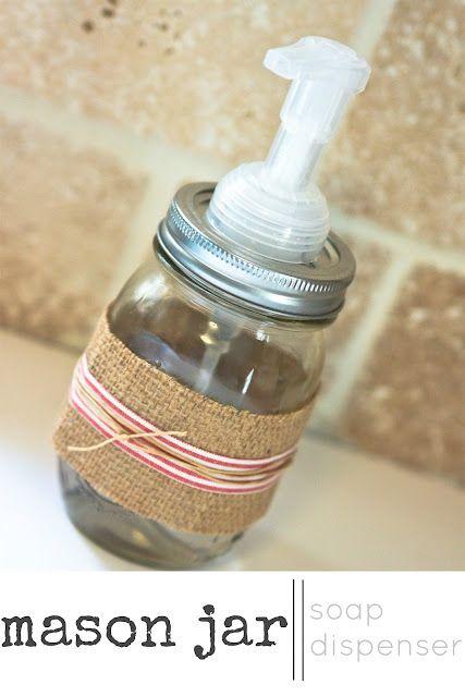 DIY soap dispener