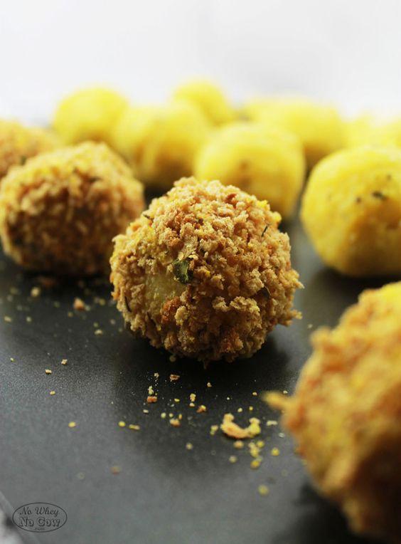 Crispy Polenta Bites (vegan + gluten free) | Holy Balls | Pinterest ...