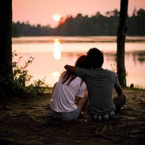 Image via We Heart It #boy #couple #girl #grunge #hipster #night #style #sunset #love