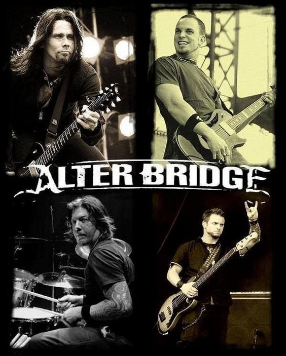 Alter Bridge, one of the greatest guitarists (Tremonti), lead singers (Kennedy) and epic sounds I've heard in a very long time. One of my favorite.