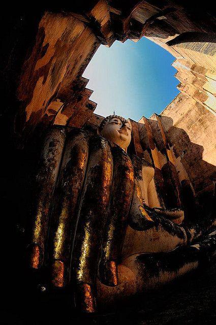 Giant Buddha. Thailand