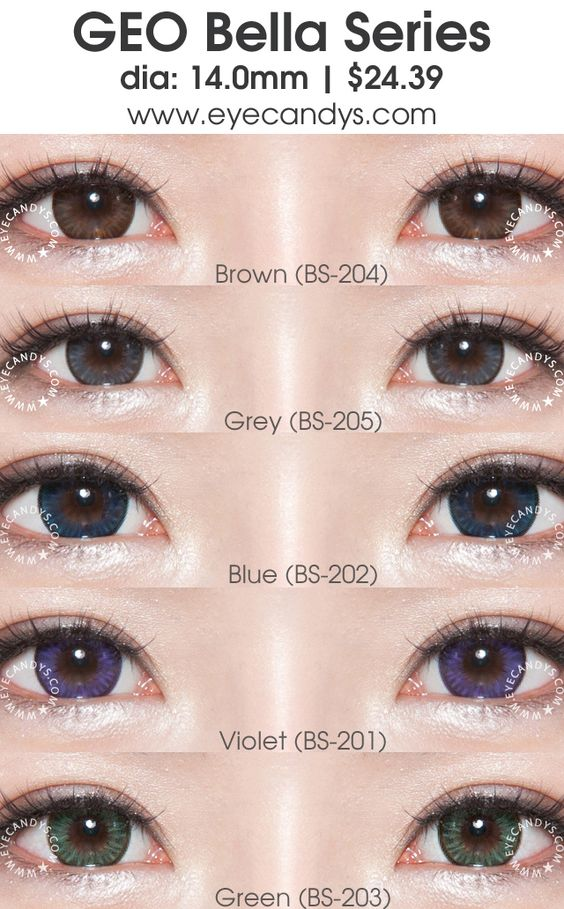 GEO Bella series circle lens (colored contact lenses ...