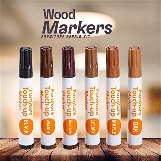 These 10 Touch Up Markers Will Make All Your Furniture Look Brand New Wood Markers Furniture Markers Touch Up
