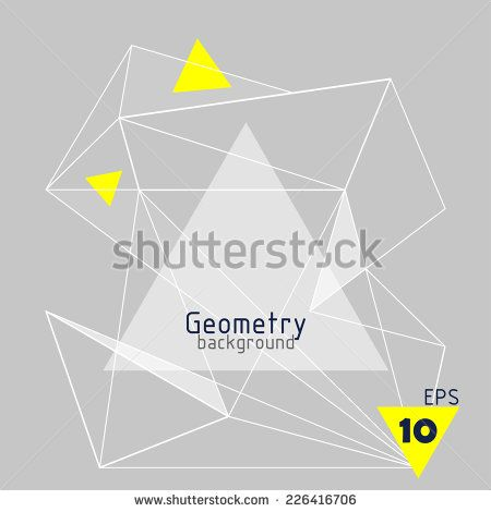 background abstract triangles