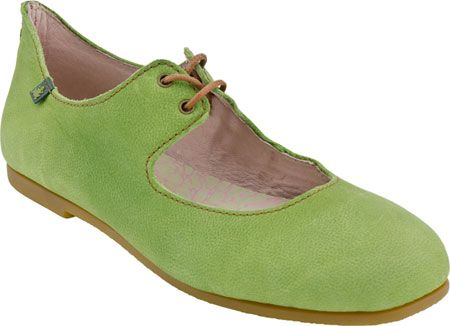 El Naturalista Croche N960 in Antique Green from PlanetShoes.com