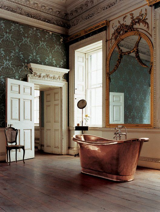 awesome copper tub