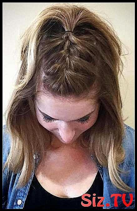 Hairstyles For School Tied Up Half Up 41 Ideas Hairstyles For School Tied Up Half Up 41 Ideas Zopf Kurze Haare Kurze Haare Flechten Lange Haare
