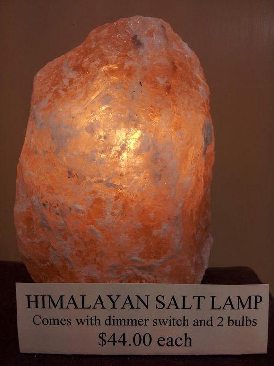 Himalayan salt lamp, Himalayan salt and Himalayan on Pinterest