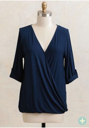 Endless Night Curvy Plus Blouse   Modern Vintage Clothing   Ruche
