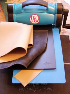 Big Shot basics on how to stack plates for different dies and embossing plates.  2008 information