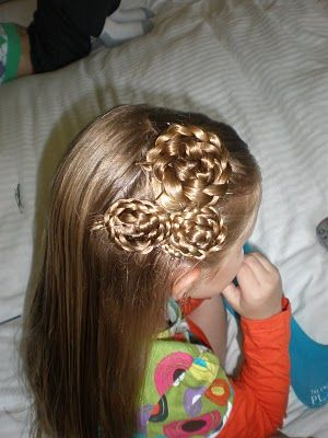 My kids don't have thick enough hair, but this is cute!