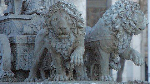 """ATALANTA E HIPÓMENES CONVERTIDOS EN LEONES POR HACER EL AMOR EN EL TEMPLO DE CIBELES… (Ovidio, """"Las metamorfosis"""", Libro X, 559 – 706)"""