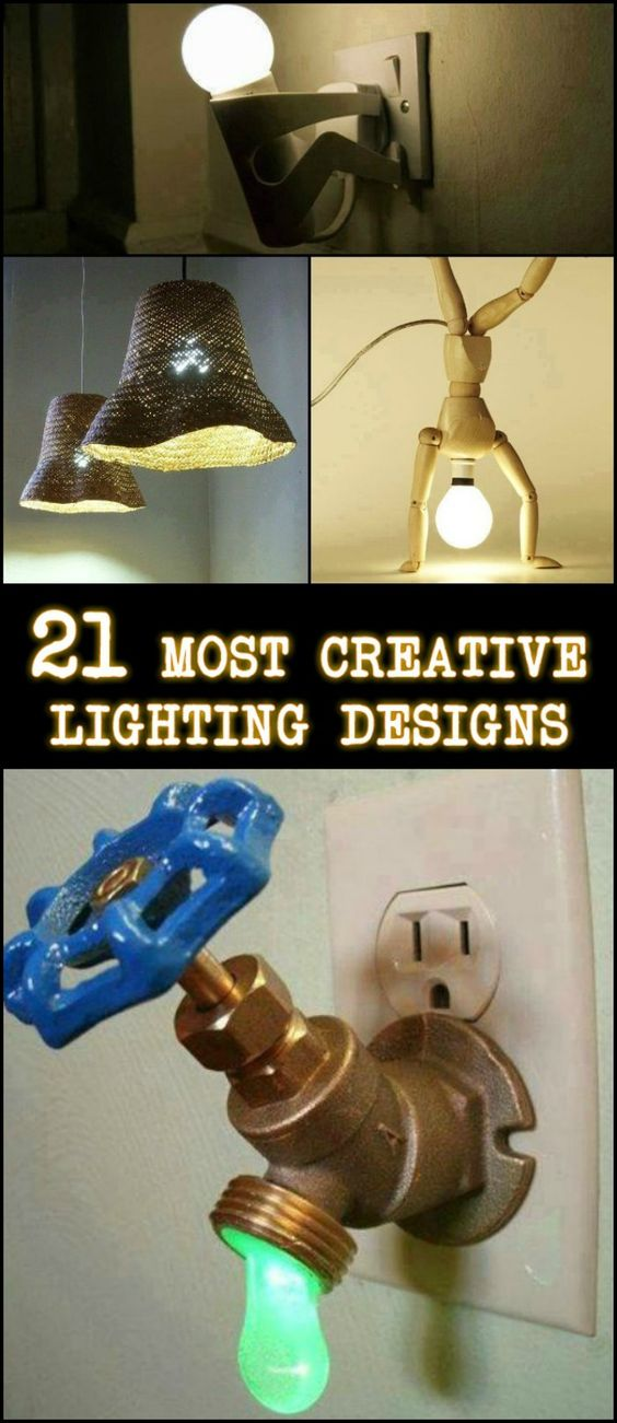 21 Most Creative Lighting Designs