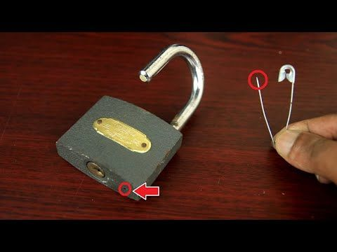 2 Ways To Open A Lock Tricks Simple And Easy Youtube Mens Birthday Gifts Lock Picking Tools Lock